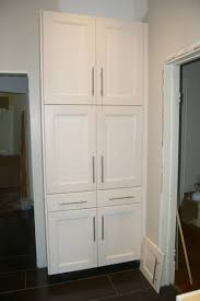 Broom Closet Cabinet Furniture Thin Pantry Cabinet Freestanding Pantry Cabinet