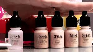 dinair studio beauty airbrush makeup kit youtube