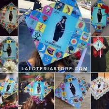 customized graduation caps loteria graduation cap topper template la graduada custom grad
