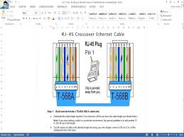 rj45 pinout wiring diagrams cat5e cat6 cable crossover diagram