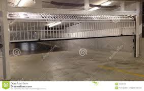 underground garage door opening stock footage video 41698434
