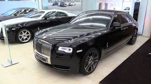 roll royce leather 1 000 diamonds used in the paint of this rolls royce ghost elegance