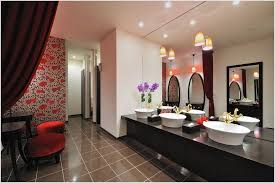Sloped Ceiling Lighting Contemporary Bathroom Design With Sloped Ceiling Light Fixture And