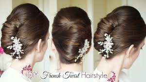 images of braids with french roll hairstyle diy french twist updo holiday updo hairstyles