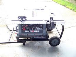 porter cable table saw review porter cable job site table saw pcb220ts review tools in action