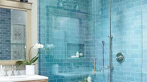 turquoise tile bathroom 10 beautiful blue bathrooms coastal living