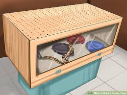 how to build a reptile cage 12 steps with pictures wikihow