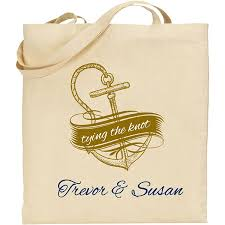 nautical tote wedding welcome bags out of town bags