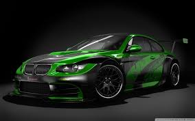 green bmw black and green tuned bmw 4k hd desktop wallpaper for 4k ultra