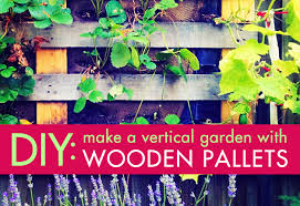 Diy Vertical Pallet Garden - diy how to create a vertical garden with upcycled wood pallets