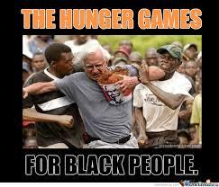 black version of the hunger games by richardsdick meme center