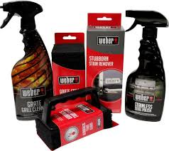 amazon com weber grill cleaning kit grill spray cleaner
