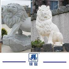 marble lion china sculpture crafted animals granite marble lion for