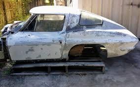 1963 corvette project car for sale splity project 1963 corvette coupe