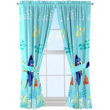 disney finding dory kids bedroom curtains set of 2 walmart com
