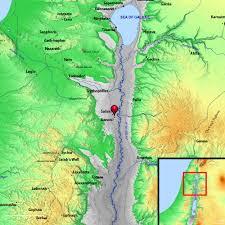 Gennesaret Map Index Of Region