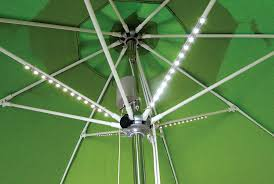 Patio Umbrella Lighting Led Lights For Outdoor Umbrella Stylish Patio With Throughout 15