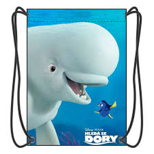 finding dory drawstring backpack boy bags movies cartoon