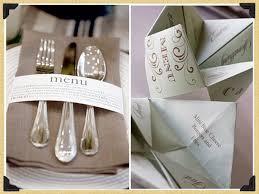 prã sentation menu mariage un peu d originalité dans la présentation de vos menus marianik