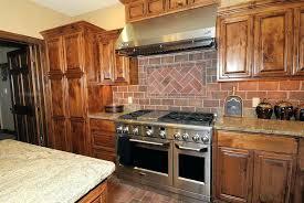 brick tile kitchen backsplash brick tile backsplash kitchen paml info