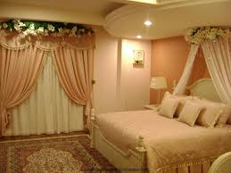 room decoration with flowers and candles trends bed flower picture