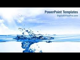 Water Powerpoint Templates by Clear Water Powerpoint Template Backgrounds