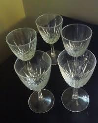cristal d u0027arques durand claret wine goblets