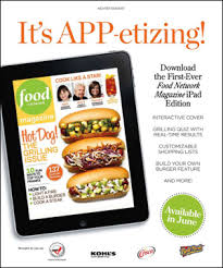 layout magazine app let s get digital how four food magazines are promoting their ipad