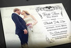 bridal tea party invitation tea party invitation template 40 free psd eps indesign format