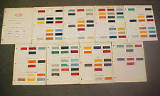 chevrolet paint colors chart ebay
