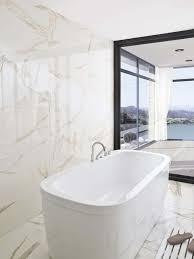Contemporary Modern Bathrooms Calacata Gold Tiles For Modern Bathrooms