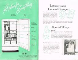 1949 ge spacemaker refrigerator owners manual round top recipes