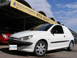 peugeot 206 van használt autó peugeot 206 van hdi klíma friss műszaki