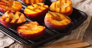 summertime grilled peaches with honey envolve peoplecare