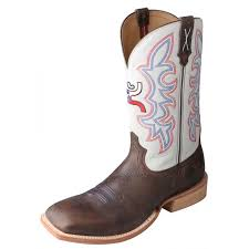 twisted x s boots twisted x s hooey cowboy boots brown with white tops