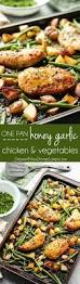 Cooking Preparation Moving Vegetables On by One Pan Honey Garlic Chicken And Vegetables Video Dessert