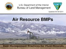 air bureau air resource bmps bureau of land management ppt