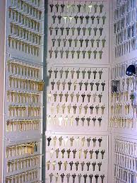 Key Storage Cabinet Hook Panel Key Storage Board Locking Key Storage Wall Mounted