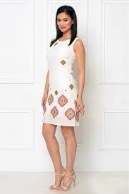 rochie etno rochie de zi brodata cu motive etno larysa ro