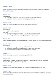 user guide for filamente sharepoint client for ipad and iphone