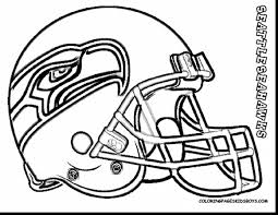 amazing seahawks coloring page th man kids color your own super