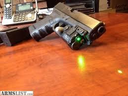 glock 19 light and laser armslist for sale glock 19 carry package green laser light