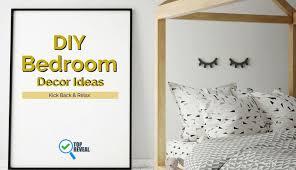 diy bedroom decor ideas kick back relax with our dynamic diy bedroom decor ideas top