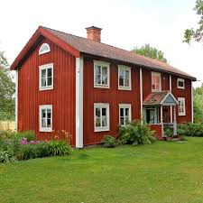 the swedish house ii the red house with white corners is t u2026 flickr