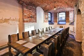 seminar rooms at the restaurant baieri kelder estonia