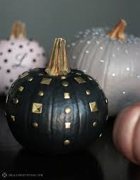 Small Pumpkins Decorating Ideas 15 Glam Pumpkin Designs For A Glitzy Fall And Halloween Décor