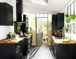 plan de travail bois cuisine plan de travail bois cuisine idace cuisine noir laque plan de