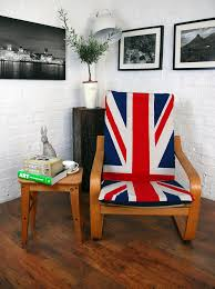 Ikea Poang Chair Covers Union Jack Cotton Cover To Fit Ikea Poang Chair Hipica Interiors