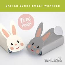 free printable easter bunny gift box wrappers a fun easter craft