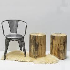 Stump Chair White Cedar Tree Stump Stool Side Table Woodswan Rescue R103